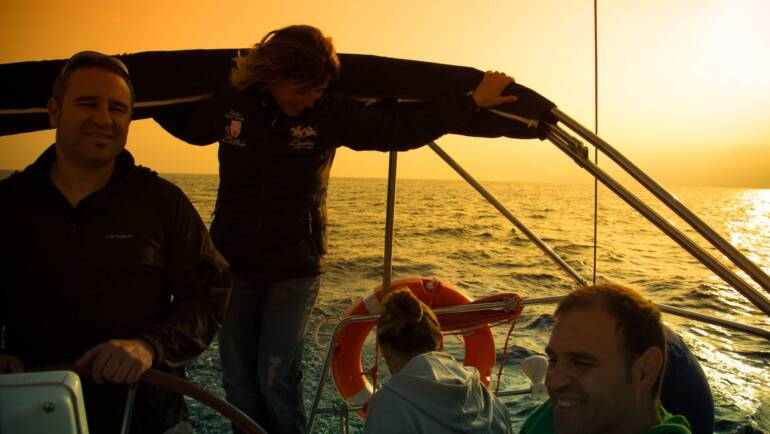 Patrón de Yate a bordo, una manera diferente de aprender navegando y de navegar aprendiendo